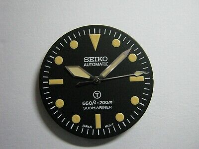$ CDN74.48 • Buy New Seiko Dial With Broad Arrow Hand For Mod SKX007 / 031 NH36 / 7s26 / 4R36