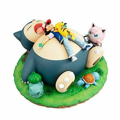 $213.75 • Buy G.E.M. Series Pokemon Snorlax And Goodnight About 210Mm Pvc-Painted Pvc Figure