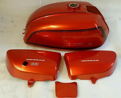 AU89.46 • Buy Suzuki Gt750l 1974 Model Tank And Side Panels Full Paintwork Decal Kit