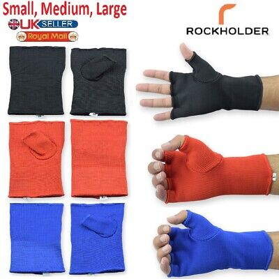 $ CDN5.99 • Buy Gel Gloves Punch Bag Hand Quick Wraps Boxing Padded Inner UFC Gear MMA Protector