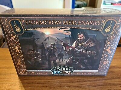 £34.99 • Buy A Song Of Ice And Fire Neutral Stormcrow Mercenaries Expansion