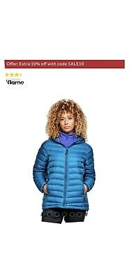 Peter Storm Womens Packlite Alpinist Down Jacket Size 10 Brand New With Tags • 25£