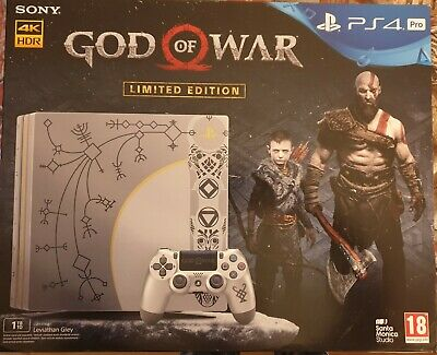 AU781.98 • Buy Ps4 Sony Playstation 4 Pro God Of War Limited Edition
