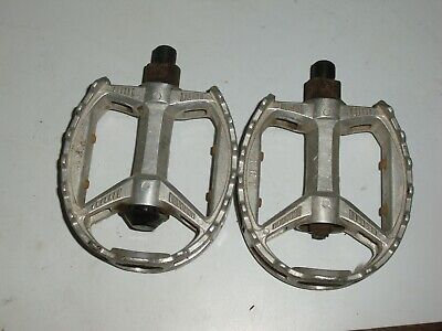 AU45.14 • Buy Old School 1/2 Inch KKT Bmx Freestyle Bike Pedals Silver