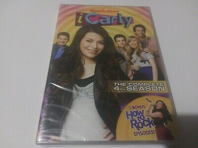ICarly: The Complete 4th Season (DVD, 2012, 2-Disc Set) NEW SEALED! • 9.41£