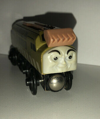 Thomas & Friends Wooden Railway Train Diesel 10 Engine Good Condition Ships Fast • 5.73£