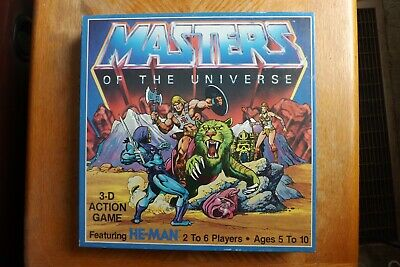 $24.98 • Buy 1983 Golden Mattel Masters Of The Universe 3-D Action Board Game - Complete