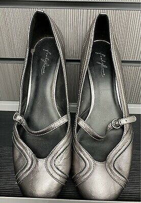 Marks And Spencer M&S Size 8 EU 42 Footglove Leather Slip On Shoes • 15£