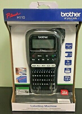 Brother P-Touch H110 Portable / Handheld Label Printing Machine • 48£