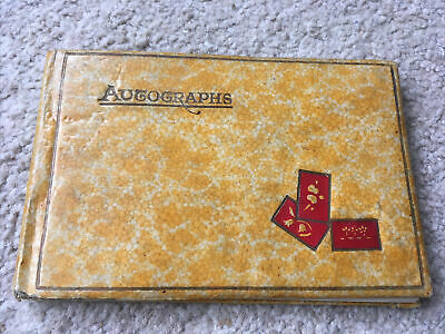 £27.99 • Buy Lovely 1930 Scrap/ Autograph Book With Various Handwritten Verses & Drawings