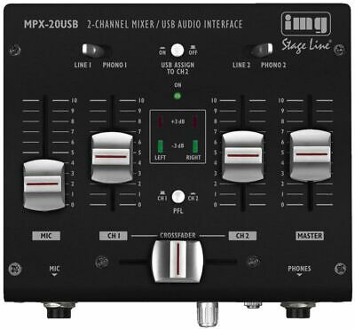 Img.stageline Mpx-20usb Stereo Dj Mixer • 59.99£
