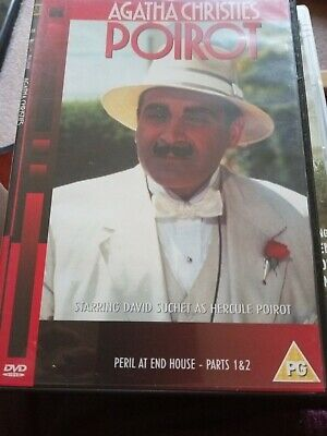 Agatha Christie's Poirot: Peril At End House - Parts 1 And 2 DVD (2003) David • 2.99£