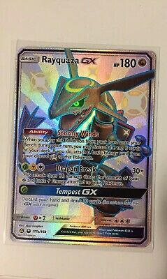 $ CDN180 • Buy Rayquaza GX 177a/168 Ultra Rare Shiny Pokemon Card Hidden Fates Pokemon TCG NM