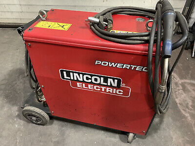 Lincoln Electric Powertec 305C Compact MIG Welder 300amp 3 Phase 400v Indu • 895£