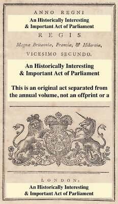 1911. An Act To Confirm A Provisional Order Under The Land Drainage Act 1861 In • 14.99£