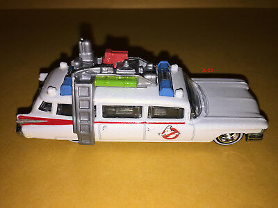 GHOSTBUSTERS Hot Wheels ECTO-1 Diecast CAR Movie Toy 1984 Version 1:64 ECTO-ONE • 13.74£