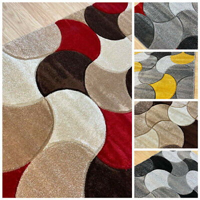 Large Rugs Living Room Carpet Mat Rug Modern Bedroom Carpets New 160/230 Rugs • 54.99£
