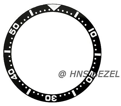 $ CDN65.01 • Buy Black Ceramic Bezel Insert For Seiko 6105-8110 7002 6309 7s26-0020 Skx007 Lume