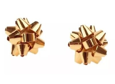 $ CDN60.60 • Buy FREE SHIP+GIFT!!! NWT Kate Spade Gold Bourgeois Bow Studs W/jewelry Box