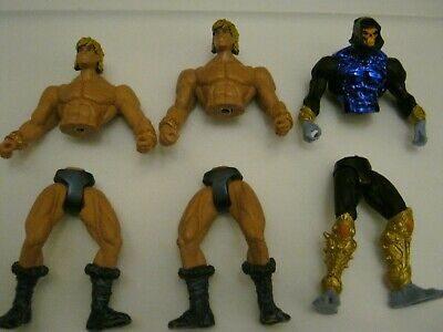 $12 • Buy Masters Of The Universe 200X Parts Lot He-man And Skeletor Broken