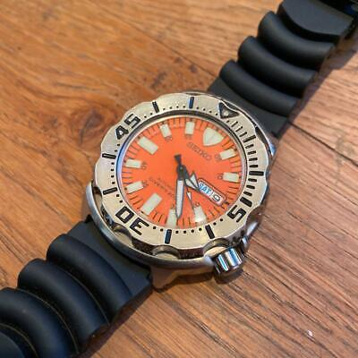$ CDN940.52 • Buy Seiko Divers Day Date Orange Monster Automatic Mens Watch Authentic Working