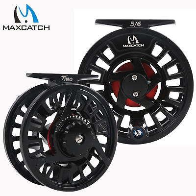 $ CDN45.01 • Buy Maxcatch Tino Fly Fishing Reel 5/6,7/8 Weight Large Arbor Trout Fly Reel