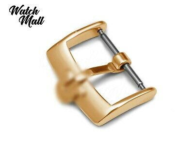 Fits OMEGA Buckle Clasp For Watch Leather Strap Band Yellow Gold  • 15.99£