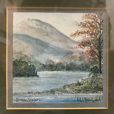 Colin Williamson Signed Derwent Water Print Lake District Picture Art 473204 • 6.99£