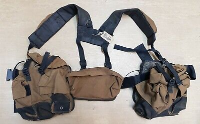£109.95 • Buy Rare Genuine SADF South African Army Issue P90 Pattern Paratrooper Webbing #464