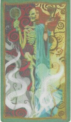 The Mortal Instruments City Of Bones Tarot Chase Card Justice VG Condition • 0.25£