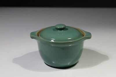 Denby Small Casserole Dish Or Soup Bowl With Lid & Handles Manor Green • 8£