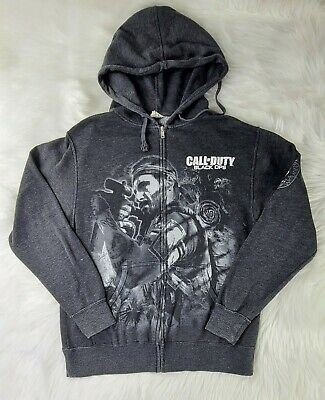 £46.03 • Buy Call Of Duty Black Ops Video Game Zip Hoodie Men's Size Medium Shipped Prompt 💨