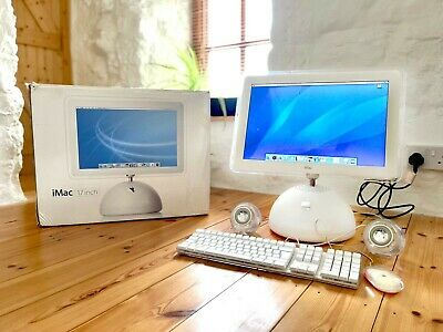 Boxed & Immaculate Condition Apple IMac G4 17  1Ghz Model 6,1 2003 • 998£