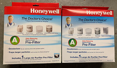 Honeywell Large Air Purifier Pre-Filter Replacement HRF-AP1 TWO BUNDLE • 14.19£