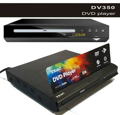 AU29 • Buy TEAC DV350 FULL HD DVD Player With USB Multimedia Playback REMOTE Parental Contr
