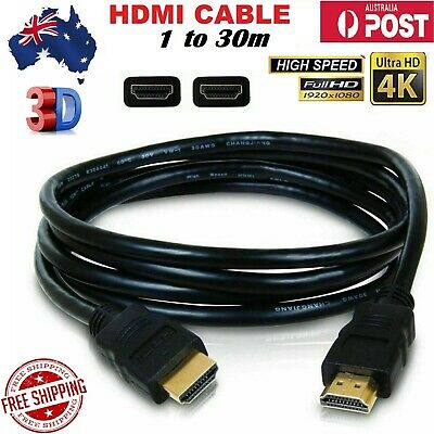 AU5 • Buy V2.0 Premium HDMI Cable Ultra HD 4K 2160p 1080p 3D High Speed 10.2Gbps Ethernet