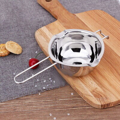 Stainless Steel Wax Melting Pot Double Boiler For DIY Wedding Scented Candle • 5.99£