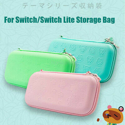 For NS Nintendo Switch / Lite Case Animal Crossing Storage Bag Protective Cover • 15.89£