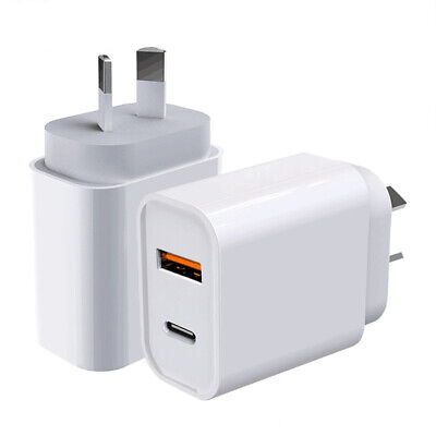 AU16.95 • Buy 20W PD USB-C Type C Fast Wall Charger Adapter AU Plug For IPhone 12 11 Android