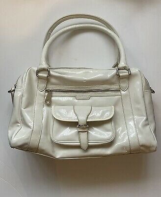 ICandy East West Cream Patent Changing Bag With Accessories RRP £160.00 • 30£