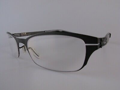 Ic! Berlin! Eyeglasses Frames NOS Mod Nameless 13 50-21 Made In Germany • 70£