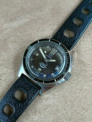 $ CDN1142.44 • Buy Squale Diver Vintage Watch Automatic By Nileg