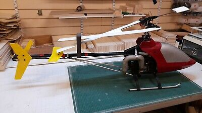 £150 • Buy Vintage-Collectors Kalt Cyclone RC Helicopter And OS 61 RF Engine