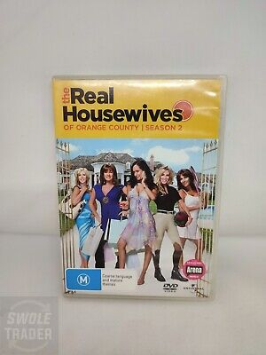 £3.83 • Buy The Real Housewives Of Orange County - Season Two - DVD Region 4