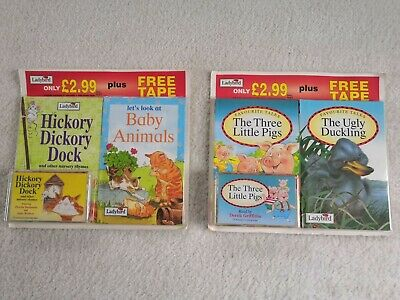 Ladybird Books - Favourite Tales + Free Tape  (1995) • 12.50£