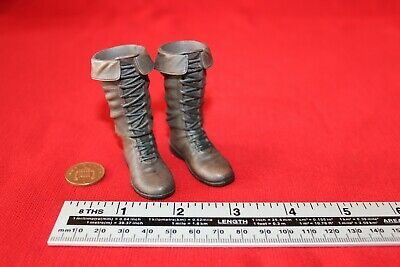£34.99 • Buy HAO YO TOYS 1/6TH SCALE ROMAN IMPERIAL ARMY Brown Peg Fitting Boots HH18004