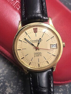 AU3557.42 • Buy Omega Constellation 18ct Solid Gold Watch F300HZ