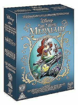 £10.94 • Buy Disney The Little Mermaid Collection [DVD] [1989] New Sealed