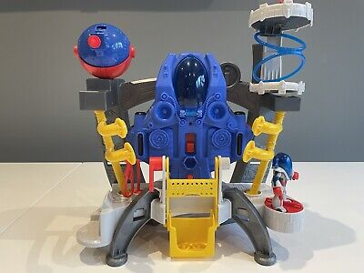 Fisher Price Imaginext Alpha Explorer Space Ship With Spaceman • 10£