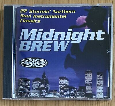 Midnight Brew 22 Stormin Northern Soul Instrumental Classics - CD Album GOLDMINE • 14.99£